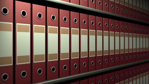 Archival a rack Animation