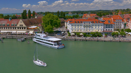 Lindau At Lake Constance, Germany stock footage