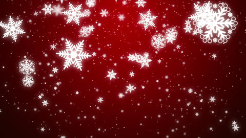 Christmas Snowflakes Animation