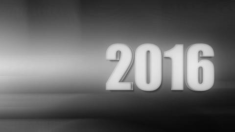 New Year 2016 Intro Noir Animation