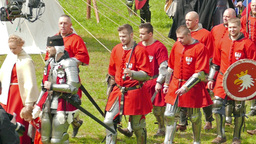 Polish medieval knights Live Action
