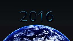 2016年 地球 Animation