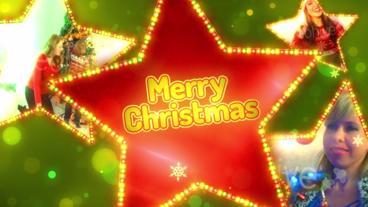 Holiday Stars stock footage