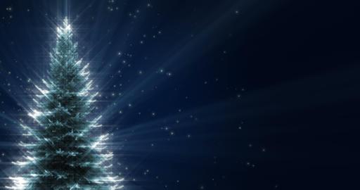 Shiny Christmas Tree Animation