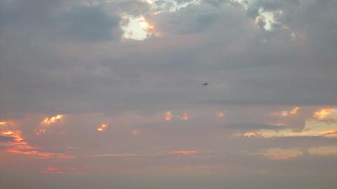 SNY50406P05- 2392 新北大尖山遠眺台北城 落日與夕采 Footage