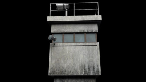 Berlin Wall Guard Tower v 2 Modelo 3D