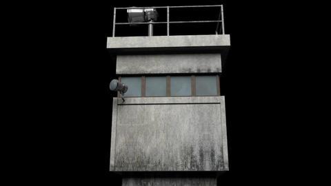 Berlin Wall Guard Tower v 2 3D Model