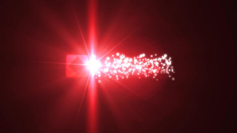Merry Christmas Red Light Shiny Magic Particles Logo Reveal Intro After Effects Template
