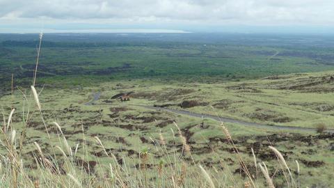 Landscape from Masaya vulcano Stock Video Footage