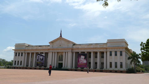 Museum National Palace of the Culture Stock Video Footage