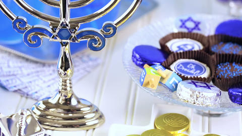 Hanukkah Stock Video Footage