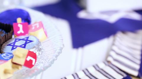 Hanukkah Stock Video Footage