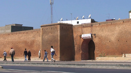Walls of Old Medina, Rabat Footage