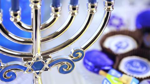 Hanukkah Footage
