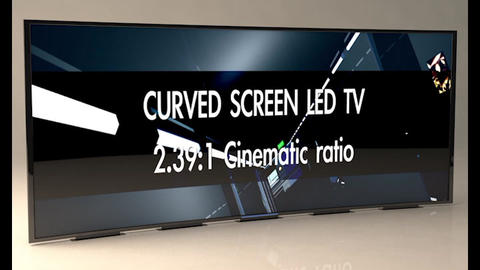 [alt 3d] Curved Screen Televisions