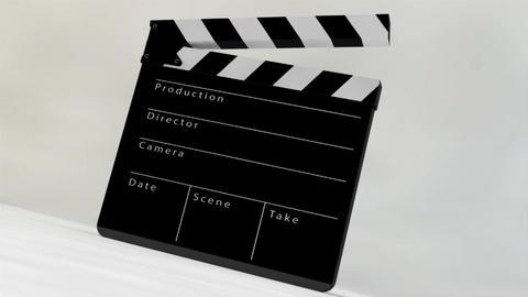 Film Slate Clapper 3D Model