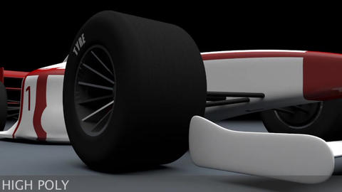 [alt 3d] Formula 1 F1 Indy Type Sport Race Cars