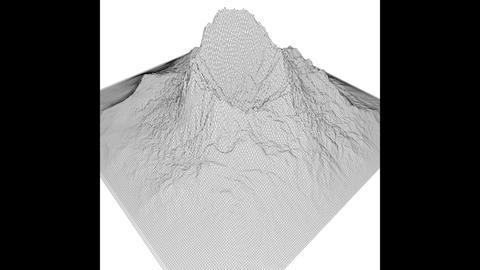 Prehistoric Volcano Low Poly, 3D models