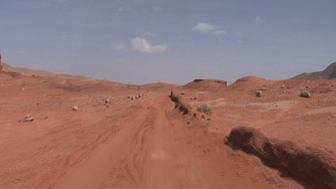 Driving throug the Dades Valley, 4WD Footage