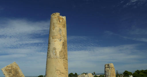 4K, Parco Archeologico di Selinunte, Sicily, Italy Live-Action