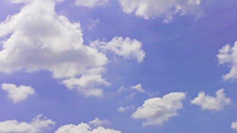 Timelapse Sky Animated Clouds Footage stock footage