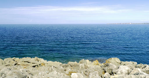 4K, Coastal Line, Sicily, Italy Live-Action