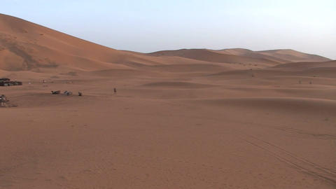 Erg Chebbi sunrise Footage