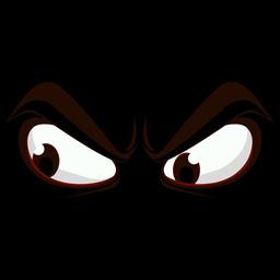 Angry Cartoon Eye 2 stock footage