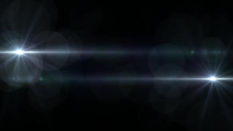 Сollection of horizontal movement of lights Animation