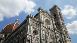 Giotto's Campanile, Florence Cathedral Footage