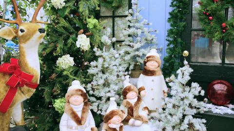 Christmas stage Footage