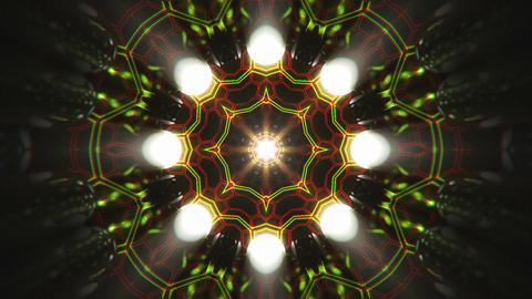 VJ Loop Color Energy Kaleidoscope 10 Animation