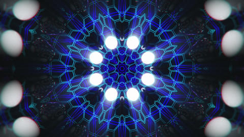 VJ Loop Color Energy Kaleidoscope 16 Animation