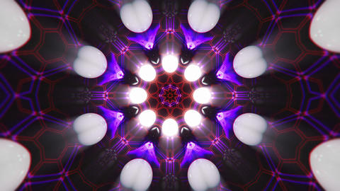 VJ Loop Color Energy Kaleidoscope 5 Animation