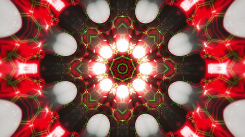 VJ Loop Color Energy Kaleidoscope 6 Animation