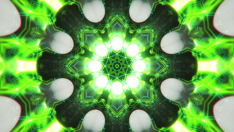 VJ Loop Color Energy Kaleidoscope 8 Animation