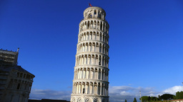 Leaning Tower Of Pisa, Tuscany, Italy stock footage