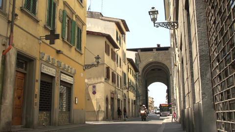 Street view at Porta San Frediano Footage