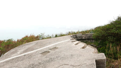 Military site remains on Devil's Peak: Pottinger Battery at Wilson Trail Footage