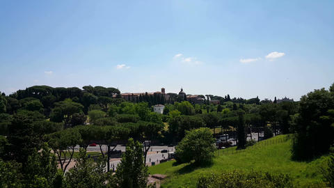 Overview Rome from Colloseum Live Action