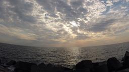 sea sunrise Footage