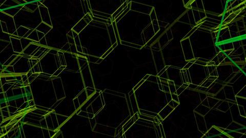 Hexagon 2 Ac 2 HD Stock Video Footage