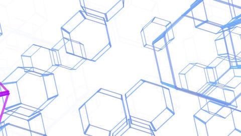 Hexagon 2 Ac 4 HD Stock Video Footage