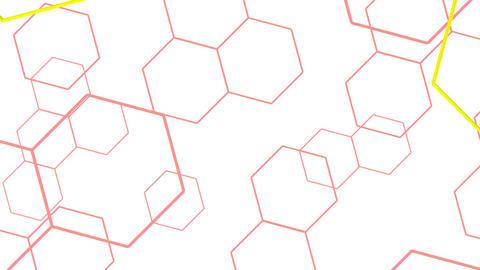 Hexagon 2 Ad 4 HD Stock Video Footage