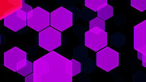 Hexagon 2 Ba 2 HD Stock Video Footage