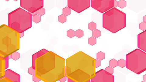 Hexagon 2 Bb 4 HD Stock Video Footage