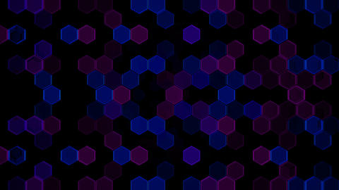 Hexagon 2 Cb 2 HD Stock Video Footage