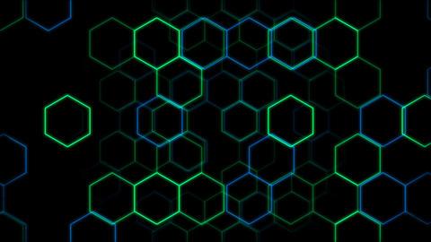 Hexagon 2 Cd 2 HD Stock Video Footage