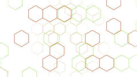 Hexagon 2 Cd 4 HD Stock Video Footage