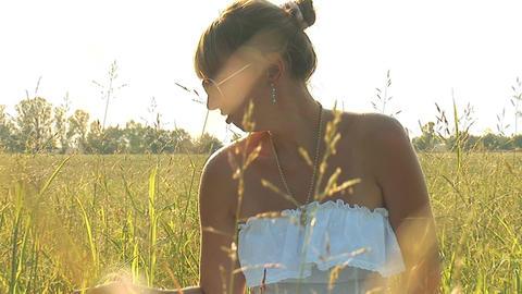 Lady In Dress 1